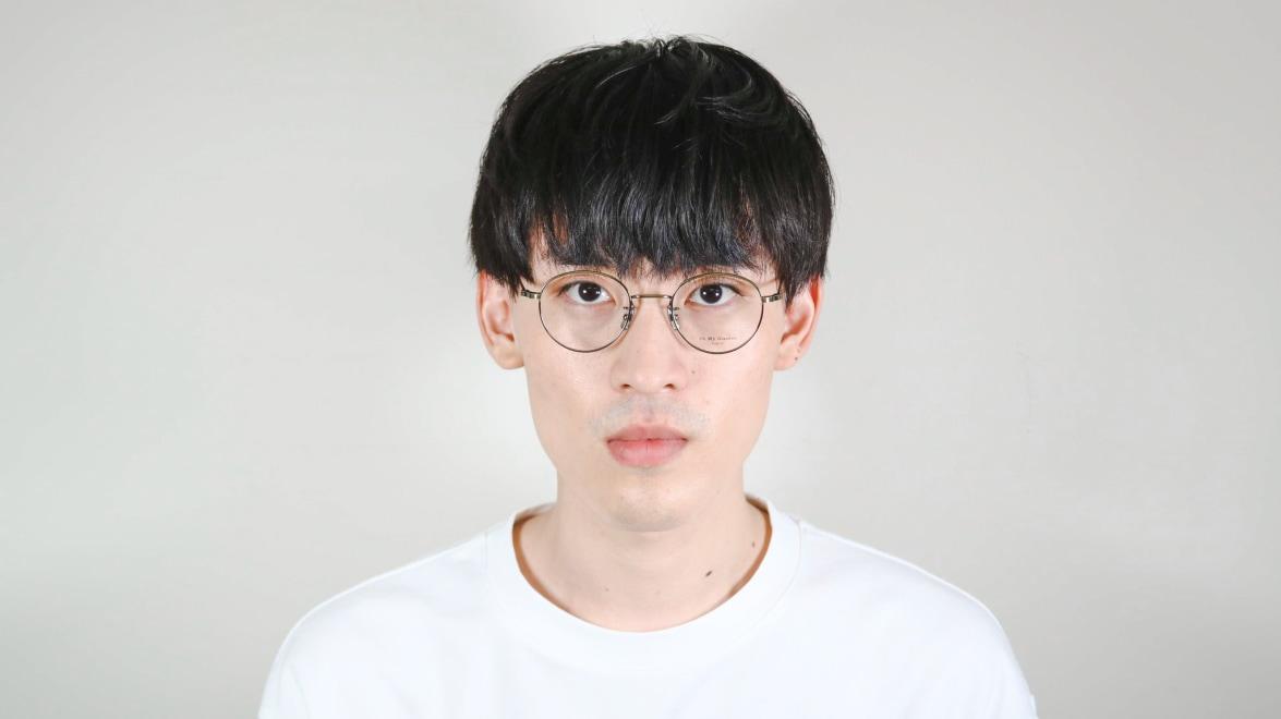 Oh My Glasses TOKYO Cecil omg-064 3-47 [メタル/鯖江産/丸メガネ/ゴールド]  5