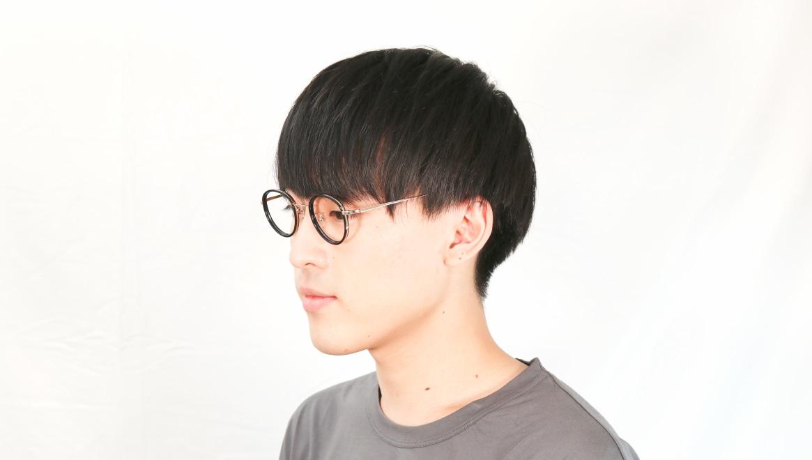 Oh My Glasses TOKYO Raymond omg-065 1-45 [黒縁/鯖江産/丸メガネ]  7