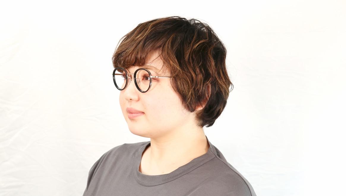 Oh My Glasses TOKYO Raymond omg-065 1-45 [黒縁/鯖江産/丸メガネ]  9