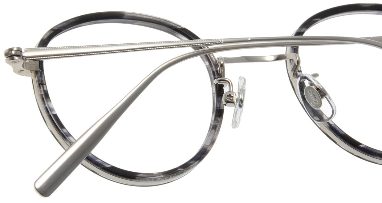 Oh My Glasses TOKYO Raymond omg-065 2-45 [鯖江産/丸メガネ/グレー]  5