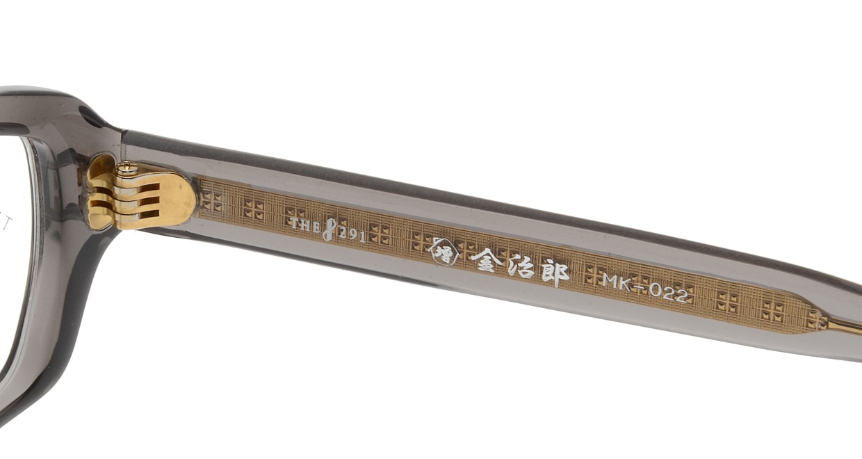 金治郎 MK-022-C-5-53 [鯖江産/ウェリントン/青]  4
