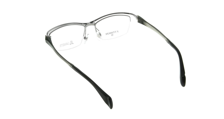 ランチェッティ LC-7019-2-53 [メタル/鯖江産/ハーフリム/スクエア/シルバー]  2