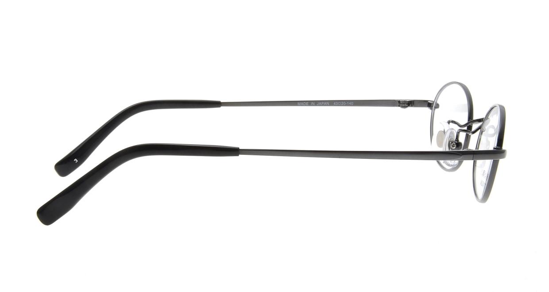 スリムリー SU-138-3-43 [メタル/鯖江産/オーバル/グレー]  1