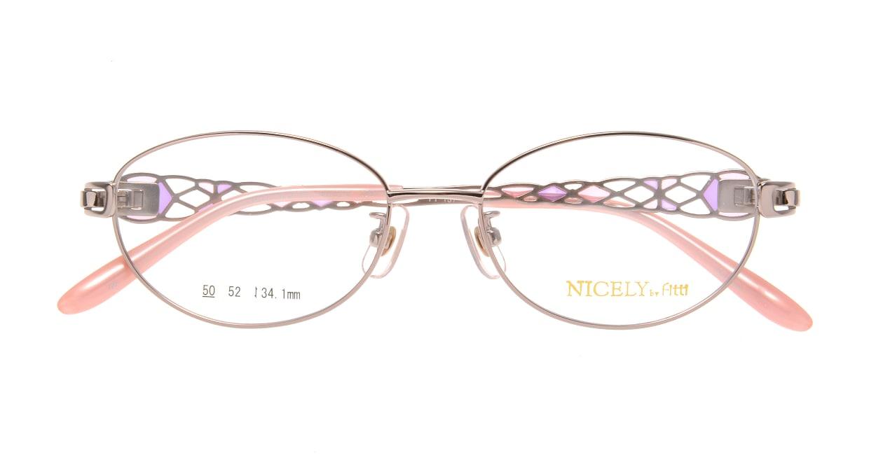 ナイスリー by フィッティ FT-137-05-50 [メタル/オーバル/ピンク]  3