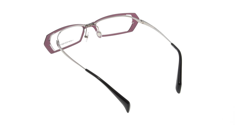 ハマモト HT-050-C4 [鯖江産/スクエア/紫]  2