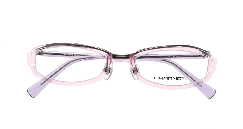 ハマモト HT-066-C3 [鯖江産/オーバル/ピンク]  3