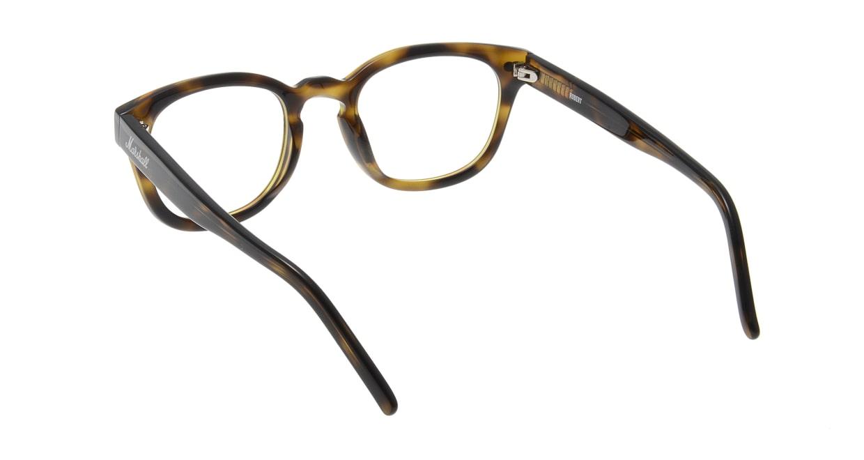 マーシャルアイウェア ROBERT Opt-Olive Turtle MA0065-606000-101 [ウェリントン/べっ甲柄]  2