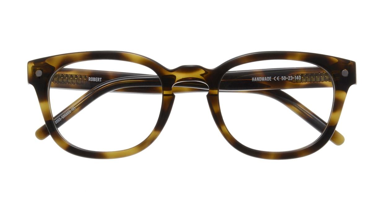 マーシャルアイウェア ROBERT Opt-Olive Turtle MA0065-606000-101 [ウェリントン/べっ甲柄]  3