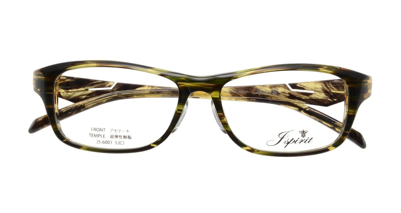 ジェイスピリット JS-6001-7-53 [鯖江産/ウェリントン/緑]  3