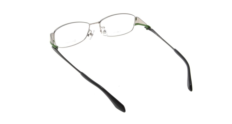 アミパリ TS-8002-15-55 [メタル/鯖江産/スクエア/シルバー]  2