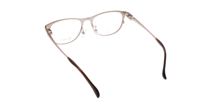 アミパリ TP-8501-90-51 [メタル/鯖江産/ウェリントン/茶色]  2