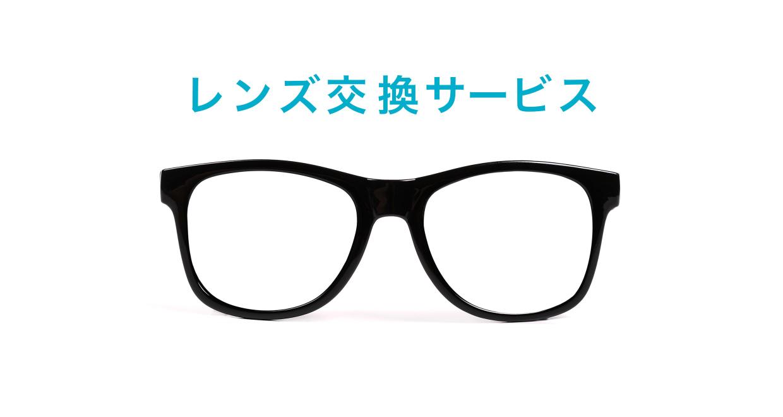 レンズ交換 [オーバル/安い/透明]