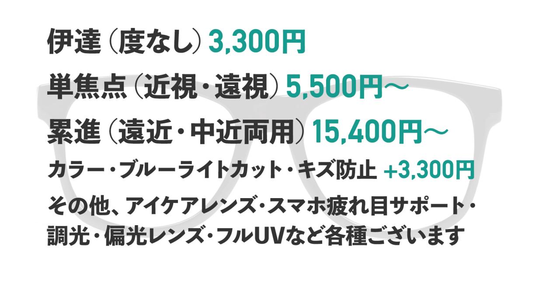 レンズ交換 [なし/オーバル/安い/透明]  1