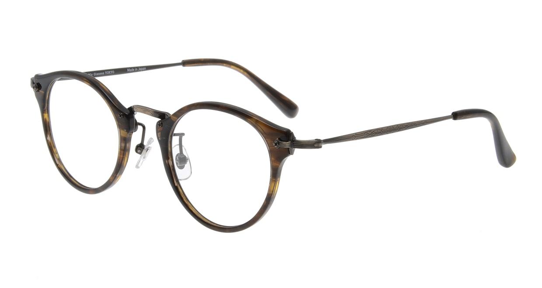 Oh My Glasses TOKYO Luke omg-025-6 [鯖江産/丸メガネ/茶色]