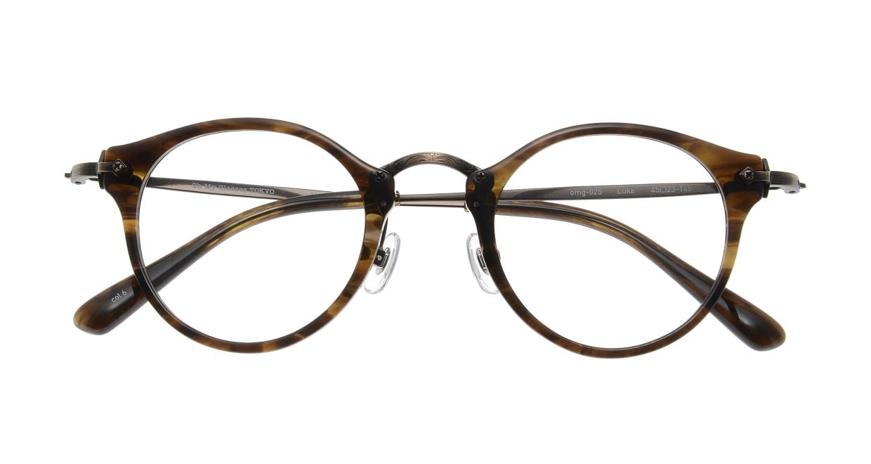 Oh My Glasses TOKYO Luke omg-025-6 [鯖江産/丸メガネ/茶色]  3