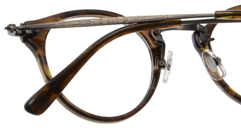 Oh My Glasses TOKYO Luke omg-025-6 [鯖江産/丸メガネ/茶色]  5