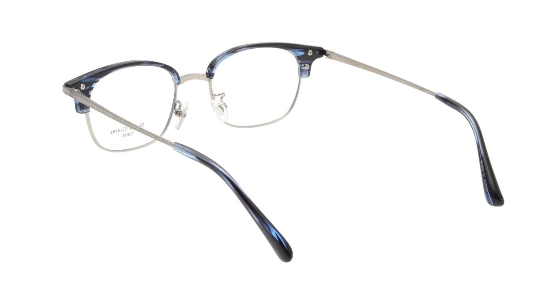 Oh My Glasses TOKYO Henry omg-041 6-50 [鯖江産/ウェリントン/青]  2