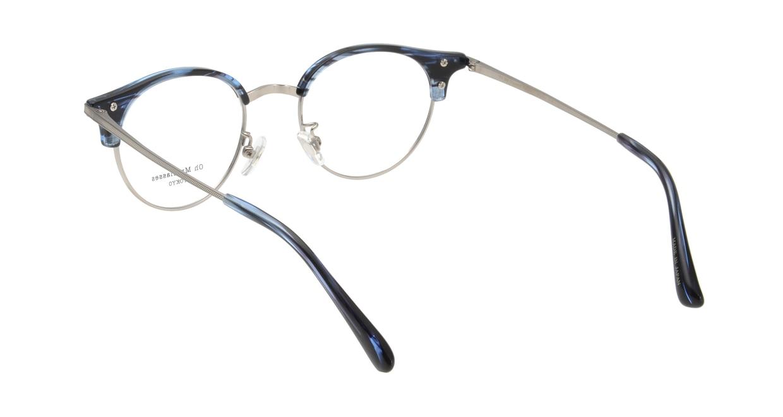 Oh My Glasses TOKYO Eric omg-042-6-47 [鯖江産/丸メガネ/青]  2
