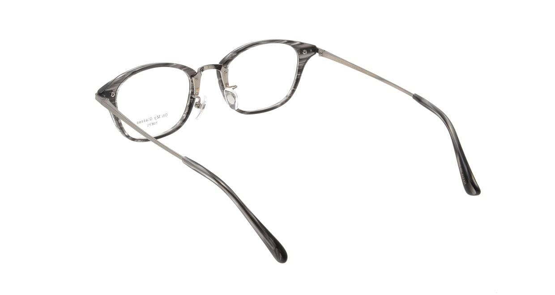 Oh My Glasses TOKYO Philip omg-054 5-48 [鯖江産/ウェリントン/グレー]  2