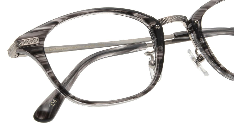 Oh My Glasses TOKYO Philip omg-054 5-48 [鯖江産/ウェリントン/グレー]  4