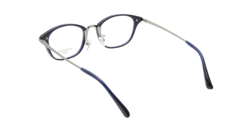 Oh My Glasses TOKYO Philip omg-054 6-48 [鯖江産/ウェリントン/青]  2