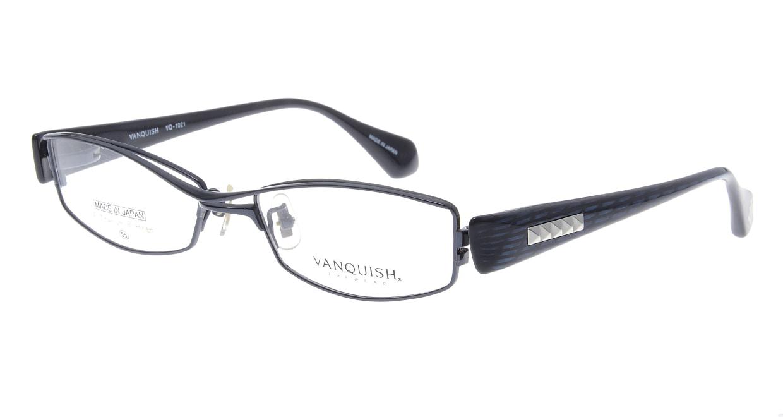 ヴァンキッシュ VQ-1021-C-3-BL [メタル/スクエア/青]