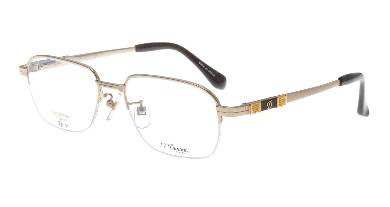 デュポン DP-3093-C-1-GP [メタル/鯖江産/ハーフリム/ウェリントン/ゴールド]