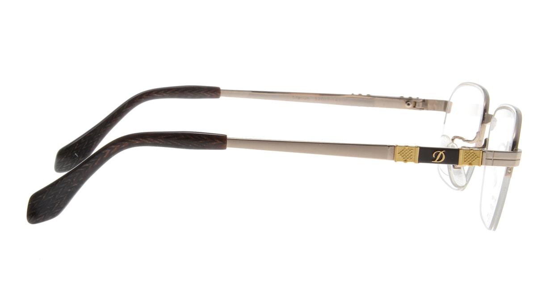 デュポン DP-3093-C-1-GP [メタル/鯖江産/ハーフリム/ウェリントン/ゴールド]  1