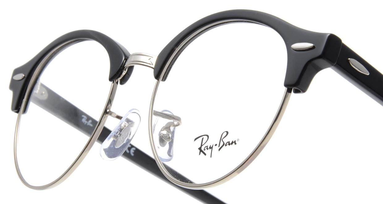 レイバン CLUBROUND RX4246V-2000-49 [メタル/丸メガネ/シルバー]  4