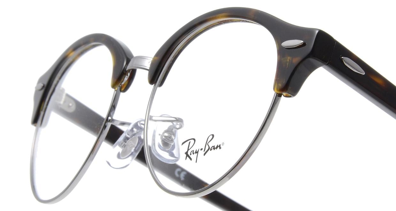 レイバン CLUBROUND RX4246V-2012-49 [メタル/丸メガネ/シルバー]  4