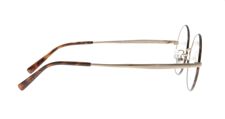 アミパリ TS-8051E-21-46 [メタル/鯖江産/丸メガネ/べっ甲柄]  1