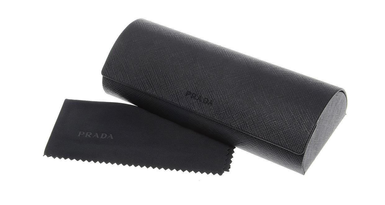 プラダ PR55SVD-LAH101-55 [メタル/スクエア/茶色]  5