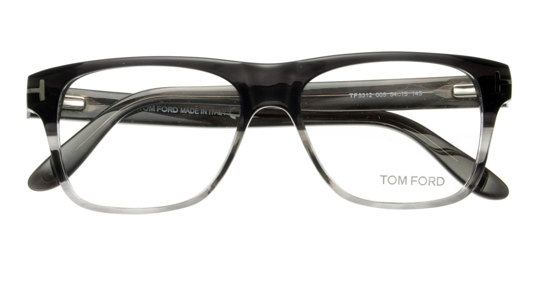 トムフォード FT5312-005-54 [ウェリントン/グレー]  3