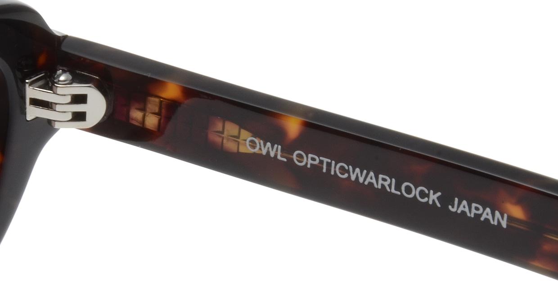オウル opticwarlock KMIYATA-EP1504-2B.BROWN DEMI/BROWN [スクエア]  5