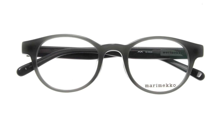 マリメッコ 32-0006-03 [丸メガネ/緑]  3