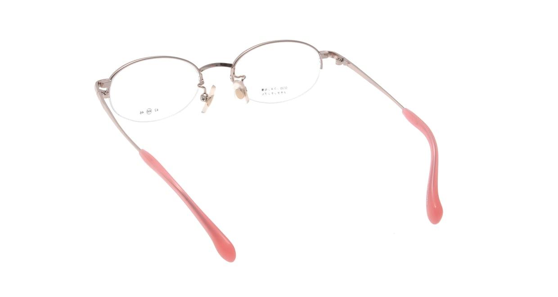 スキップ S-59-C-1 [メタル/鯖江産/ハーフリム/オーバル/ピンク]  2