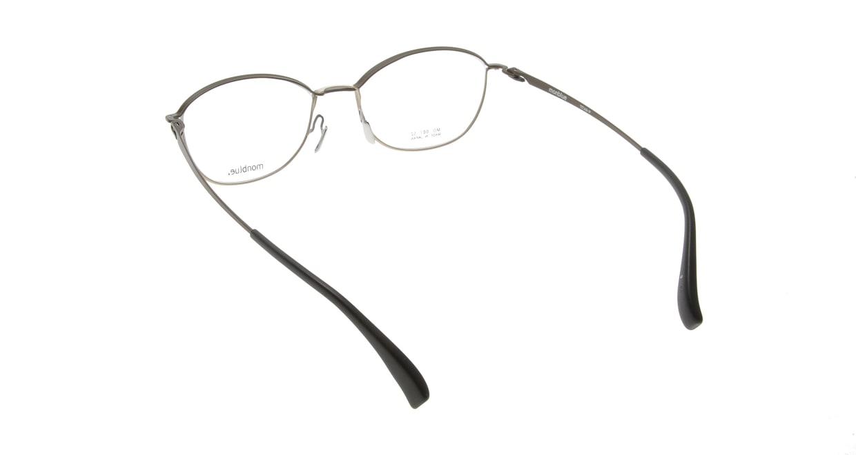 モンブルー MO007-3 [メタル/鯖江産/ウェリントン/茶色]  2