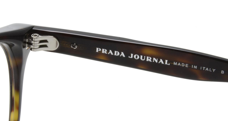 プラダ PR07TVF-2AU101-52 [丸メガネ/べっ甲柄]  5
