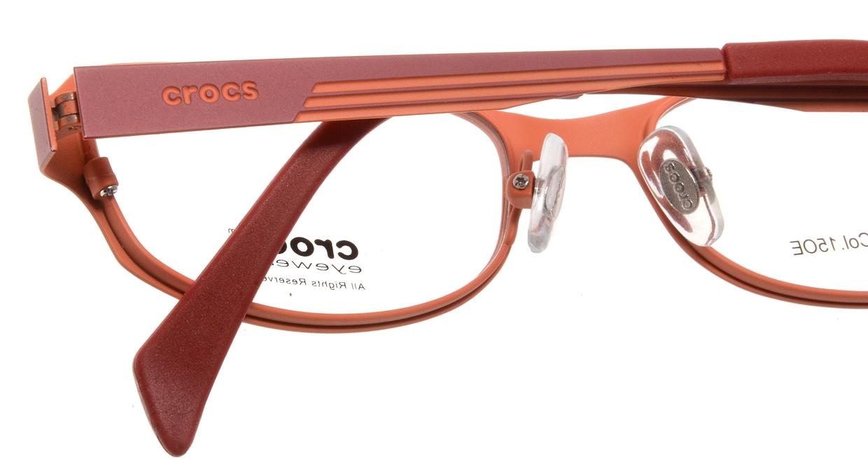 クロックスアイウェア CF414-15OE [メタル/スクエア/オレンジ]  4