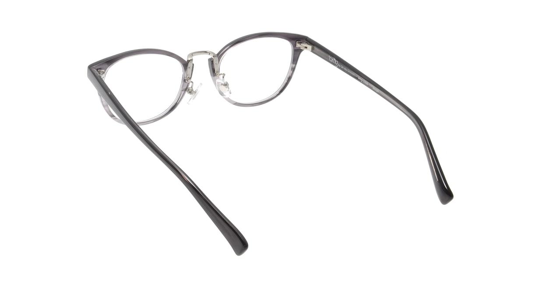 プラスオーエムジー ジョセフ OMG-030B-2 [丸メガネ/安い/グレー]  2