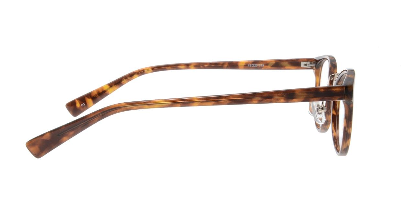 プラスオーエムジー ジョセフ OMG-030B-3 [丸メガネ/安い/べっ甲柄]  1