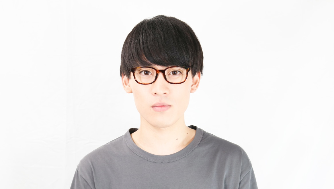 TYPE Univers Regular-Tortoise [鯖江産/ウェリントン/べっ甲柄]  3