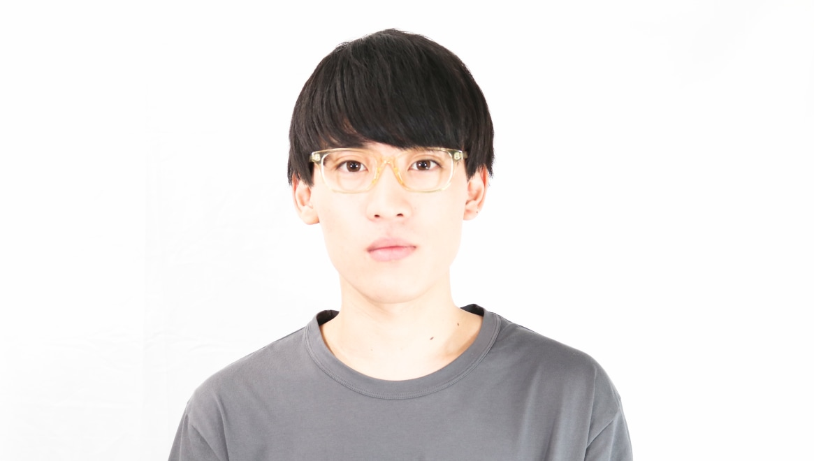 TYPE Univers Regular-Clear [鯖江産/ウェリントン/透明]  3