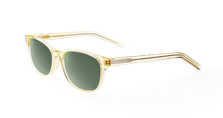 TYPE Univers Light-Clear Sunglasses [鯖江産/ウェリントン]  1