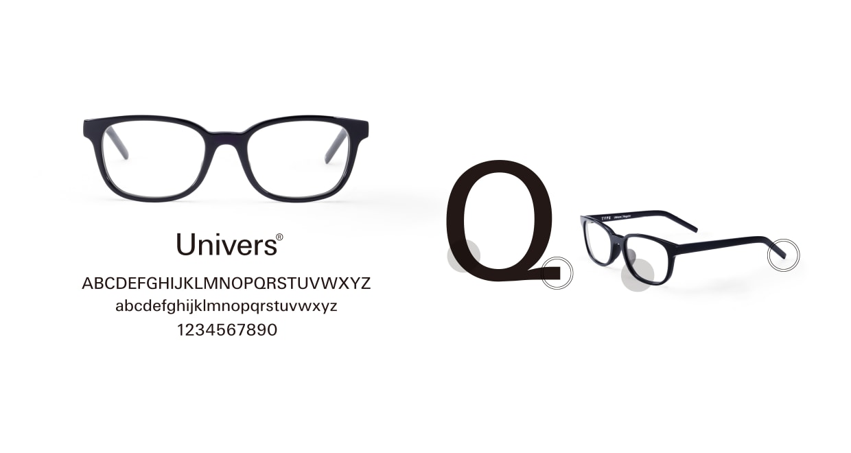 TYPE Univers Bold-Tortoise Sunglasses [鯖江産/ウェリントン]  3