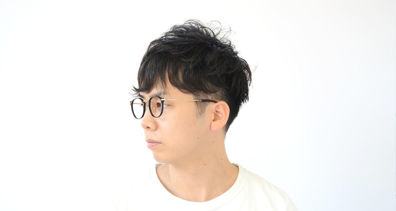 TYPE Caslon Light-Black [黒縁/鯖江産/丸メガネ]  5