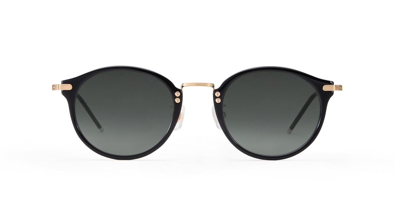 TYPE Caslon Regular-Black Sunglasses [鯖江産/ラウンド]