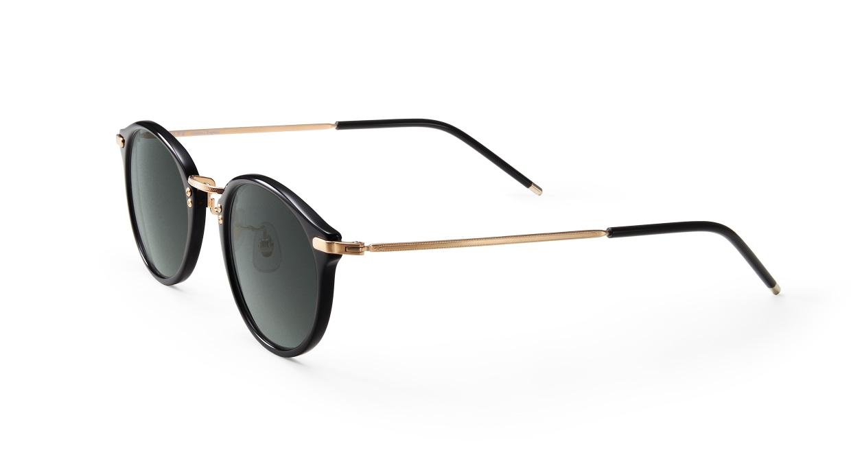 TYPE Caslon Regular-Black Sunglasses [鯖江産/ラウンド]  1