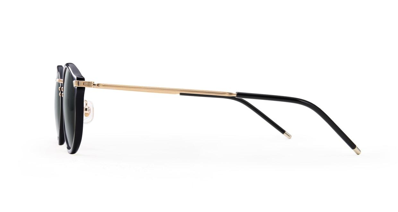 TYPE Caslon Regular-Black Sunglasses [鯖江産/ラウンド]  2