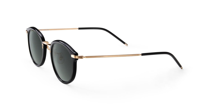 TYPE Caslon Bold-Black Sunglasses [鯖江産/ラウンド]  1